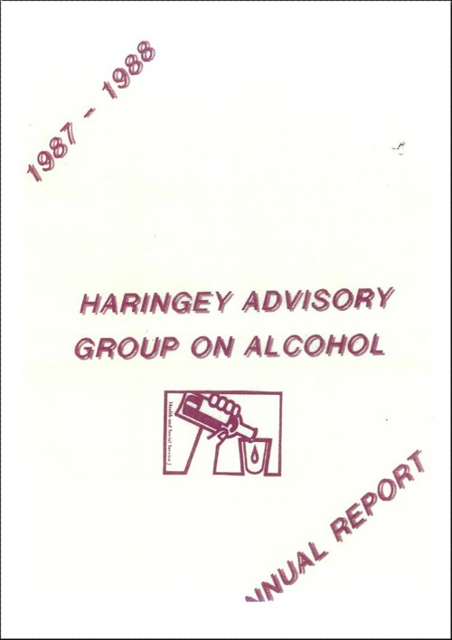 HAGA Annual Report 1987 - 1988