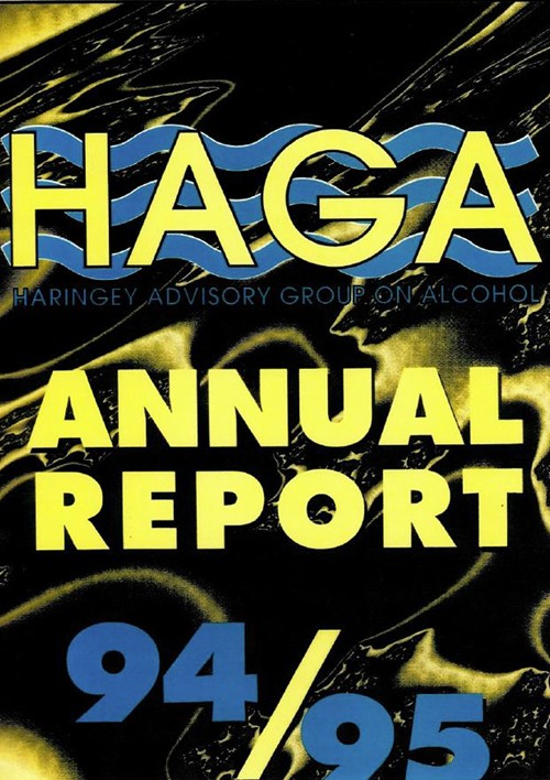 HAGA Annual Report 1994 - 1995